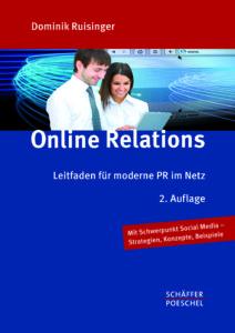 Buch zu Online PR und Online-Kommunikation