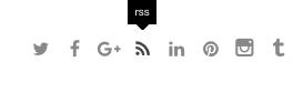 RSS Zeichen auf der Webseite von Dominik Ruisinger