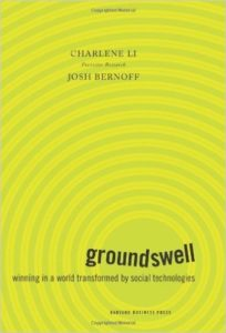 Charlene Li, Josh Bernoff: Groundswell. Winning in a world transformed by social technologies, Expanded and Revised Edition, 2011.