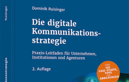 "NEU IM BUCHREGAL: ""DIE DIGITALE KOMMUNIKATIONSSTRATEGIE"" RELOADED."